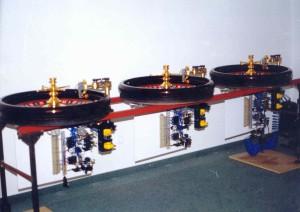 Roulette automata
