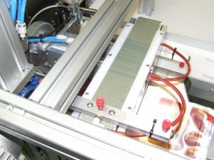 Műanyag tasak adagoló és feliratozó berendezés