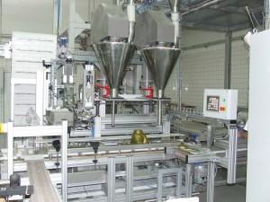 1-5kg élelmiszeripari portöltő berendezés